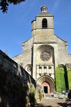 Eglise Notre-Dale-du-Puy, Figeac, Lot, Midi-Pyrénées