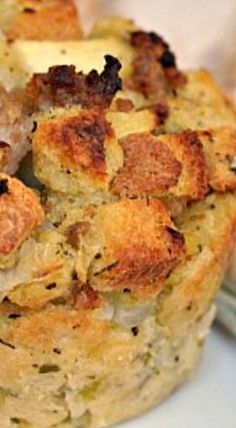 Sausage Apple and Sage Stuffing Muffins