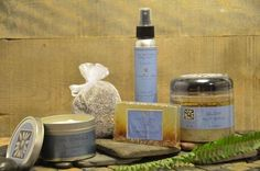 Packed full of luck, love and all things Lavender, this gift set includes: Lavender pillow/room spray, Lavender Sea Salt scrub, Lavender Soy candle, Lavender glycerin soap, Lavender sachet and .5 oz pure, therapeutic-grade Lavender essential oil
