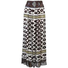 Theodora & Callum Maxi Skirt found on Polyvore