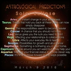 Planet Vibes Astrological Predictions for New Moon in Pisces Solar Eclipse, March 9 2016