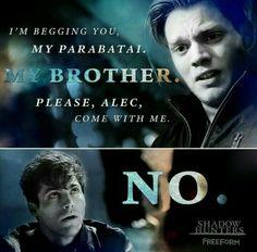 Jace & Alec #Shadowhunters 1x09