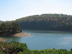 Norris Lake At Hwy 33 Bridge Norris Lake Tennessee, Tennessee Valley Authority, Bridge, River, Outdoor, Outdoors, Bridge Pattern, Bridges, Outdoor Games