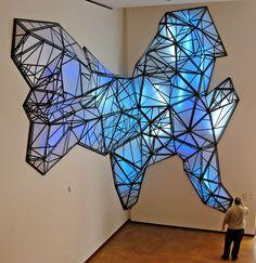 Stephen Hendee - Light sculpture