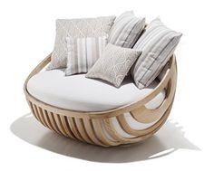 WOOD DESIGN NEWS    Garden Furniture by Schoenhuber Franchi
