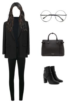 """""""Untitled #120"""" by fionariyadi98 on Polyvore featuring Yves Saint Laurent, Le Kasha, Givenchy, Burberry and Retrò"""