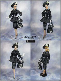 Tenue Outfit Accessoires Pour Barbie Silkstone Vintage Fashion Royalty 1106 | eBay
