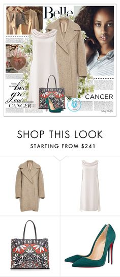 """""""Untitled #4125"""" by mcheffer ❤ liked on Polyvore featuring Osman, Prada, N°21, Jacques Vert, Tory Burch, Christian Louboutin, New Growth Designs, women's clothing, women and female"""