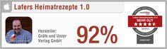 App-Test: Lafers Heimatrezepte - Pro: Übersichtlich, benutzerfreundlich, zahlreiche Rezepte, Timer, Einkaufsliste, umfangreiche Zubereitungsanleitung // Contra: Geringes Support-Angebot // Der gesamte Test auf: http://www.apptesting.de/2012/07/app-test-lafers-heimatrezepte/
