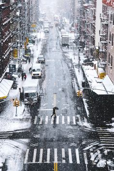 Snow Days in NYC By Ryan Millier | More