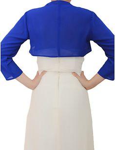 dress with bolero chifon - Google Search