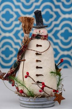 Hey, I found this really awesome Etsy listing at https://www.etsy.com/listing/255210745/whimsical-snowman-primitive-snowman