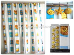 Ocean Design Waterproof Polyester Shower Curtain With Resin Hooks Photo, Detailed about Ocean Design Waterproof Polyester Shower Curtain With Resin Hooks Picture on Alibaba.com.