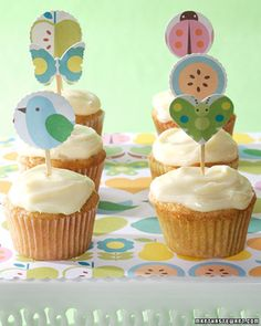 Carrot-Cake Mini Cupcakes | Martha Stewart Living - These irresistible carrot-cake mini cupcakes are simple to make and are sure to please everyone's sweet tooth.