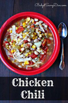 Hands Down The BEST Chicken Chili Around! Gluten - free