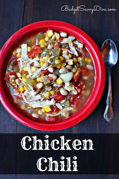 Hands Down The BEST Chicken Chili Around! Gluten - free