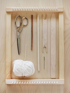 A Beautiful Mess: Basic weaving class. Tools for Weaving.
