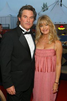 Pin for Later: Retour Sur Les Moments Les Plus Glamour du Festival de Cannes  Kurt Russell et Goldie Hawn en 2007.