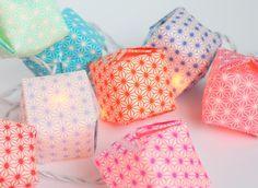 Guirlande lumineuse en origami - Adeline Klam