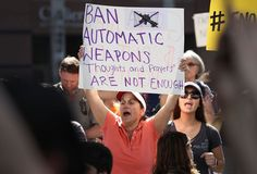 Thousands of angry students, parents and residents demanded stricter gun control laws Saturday as new details were revealed about the suspect accused of shooting and killed 17 people in a Florida high school.