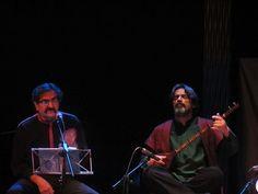 حسین علیزاده و شهرام ناظری در کنسرتی در مادرید در سال ۲۰۱۱  Madrid - spain - Shahram  Nazeri- Hossein Alizadeh