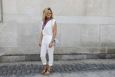 Coco and Jeans: Outfit : White Jumpsuit