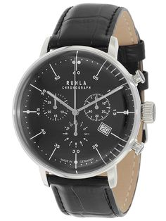 Ruhla Chronograph Mens Watch 91204 - junghans Max Bill homage - €130.-