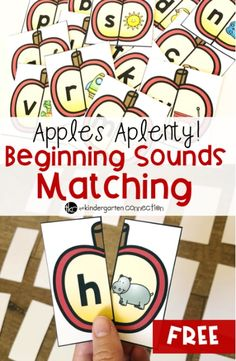 Apples Aplenty! Beginning Sound Match