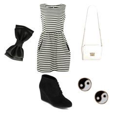 """Basic outfit"" by cherireese on Polyvore"