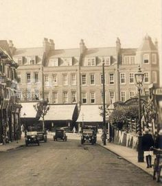 Ross Road in Wallington looking towards the high street Old Pictures, Old Photos, Vintage Photos, London History, Local History, Croydon, History Class, West London, Past Life
