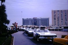 https://flic.kr/p/zWjCgJ | Vintage Found Photo - Las Vegas November 1973 | Taxis