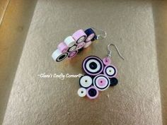 Charm of Frozen Time Candy Crush Earrings