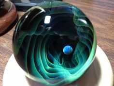 ~Andrew Lazenby~  13 (glass artist marble)