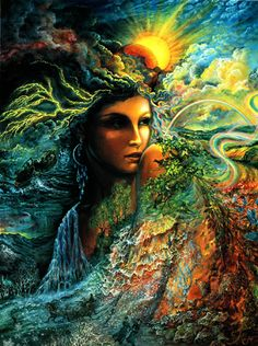 Josephine Wall - Spirit of the Elements
