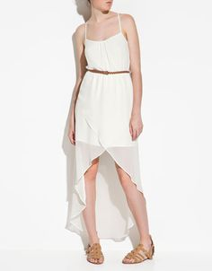 DRESS WITH FRONT OPENING - Dresses - TRF - ZARA