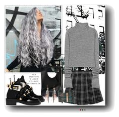"""""""Fun Hair"""" by susans-sg ❤ liked on Polyvore featuring Home Decorators Collection, Acne Studios, Alix, Balenciaga, Boutique+ and Etro"""