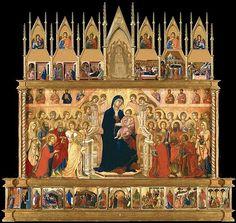 Maestà (Duccio), Front - Wikipedia, the free encyclopedia