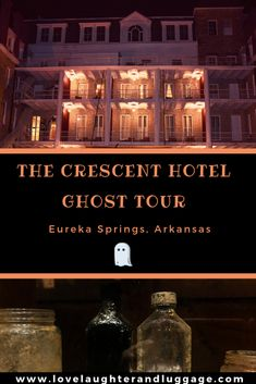 hotel tips If youre looking for some spooky fun, take a ghost tour at the Crescent Hotel in Eureka Springs, Arkansas, in the U. The hotel is full of stories and history. Haunted Hotel, Most Haunted, Haunted Places, Us Travel Destinations, Canada Travel, Travel Usa, Eureka Springs Arkansas, Ghost Tour, United States Travel