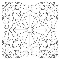 Hand Quilting Designs from Vintage Embroidery Transfers – Q is for Quilter Embroidery Designs, Hand Quilting Designs, Quilting Stencils, Embroidery Sampler, Embroidery Transfers, Learn Embroidery, Machine Embroidery Patterns, Vintage Embroidery, Machine Quilting