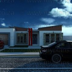4 Bedroom House Plan – My Building Plans South Africa My Building, Building Plans, Guest Suite, Master Suite, 5 Bedroom House Plans, Home Design Floor Plans, Tuscan House, Double Garage, Open Plan