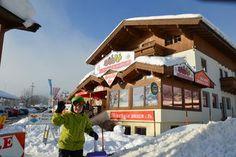 -34% Direct naast de gondel en skipiste van Brixen en Westendorf! Tirol, Oostenrijk. Vanaf €1360 per week Visit Austria, Skiing, Inspiration, Ski, Biblical Inspiration, Inspirational, Inhalation