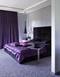 kolory, wykładzina, zasłony, łóżko, ściana