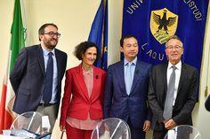 LAquila sottoscritto accordo tra Università degli Studi  e ZTE Italia