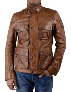 The cognac Belstaff Burgess blouson jacket with a classic tartan lining in green is a leather jacket that will last you for years to come. Belstaff Jackets, Leather Fashion, Mens Fashion, Bad To The Bone, Cool Jackets, Leather Dresses, Jacket Style, Nike Shoes, Couture