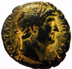 HADRIAN AE As Rome 124-128 AD - Roman Imperial coin - RIC 678 As Roma, Ancient Roman Coins, Ancient Romans, Seals, Rome, Antiques, Rings, Coins, Antiquities