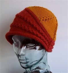 Tundra Toque cloche hat knitting pattern at Etsy (affiliate link) tba