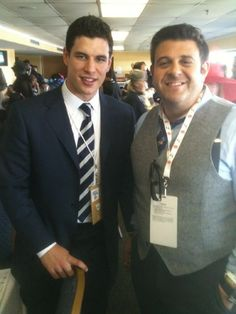 Sidney Crosby at The 2011 Kentucky Derby