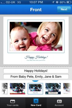 Use Facebook to easily send physical Holiday cards to your friends.