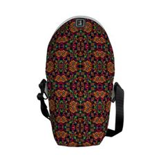 Luxury Boho Baroque Messenger Bag by #dflcprints and #zazzle