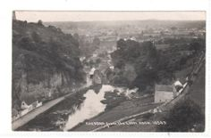 POSTCARD = CHEDDAR from Lion Rock. RP Mailed 1921